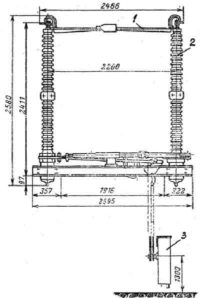 Схема устройства разъединения