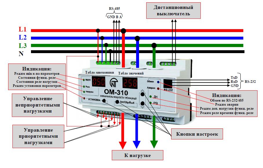 ОМ-310 схема