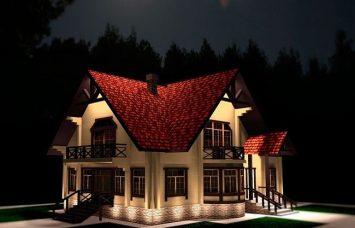 Архитектурная подсветка фасада
