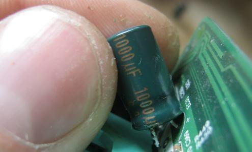 Демонтаж конденсатора