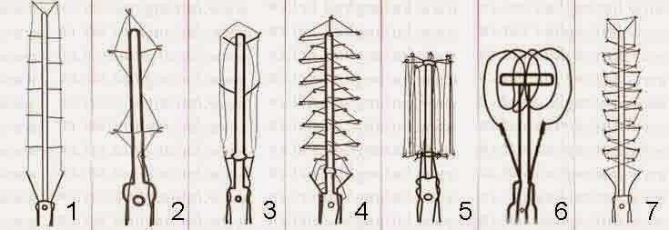 Формы нихромовых нитей
