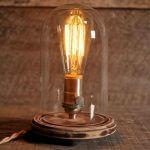 Настольная лампа в стиле ретро