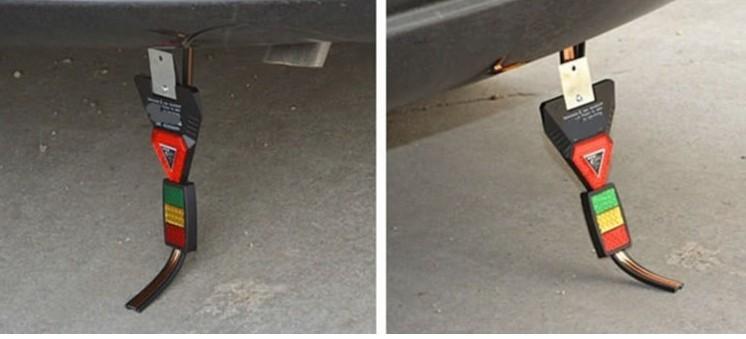 Стекатель на автомобиле