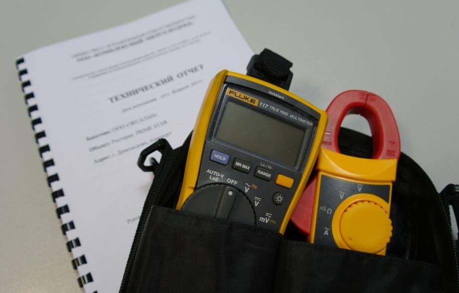 Измерение сопротивления петли фаза нуль