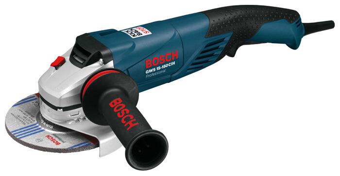 Bosch GWS 15 150 CIH Рейтинг угловых шлифовальных машин с диском на 125 230 мм Фото