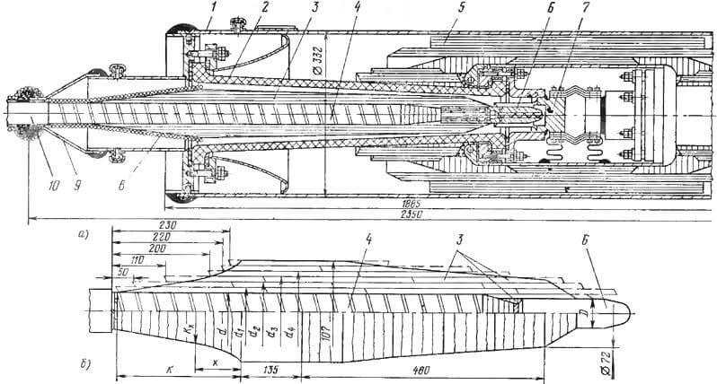 МСТМ-110 конструкция