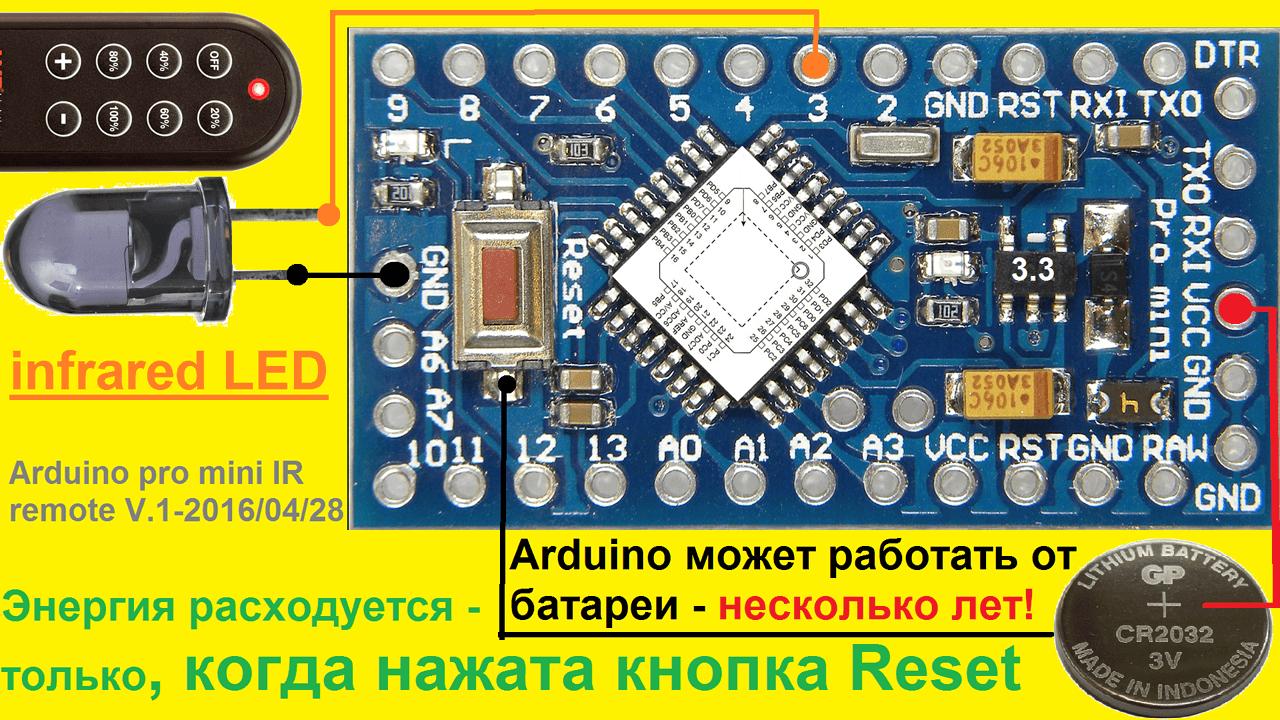 pult arduino Системы дистанционного управления освещением Фото