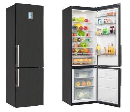 Vestfrost VF 3863 BH 10 лучших двухкамерных холодильников по соотношению цены и качества Фото