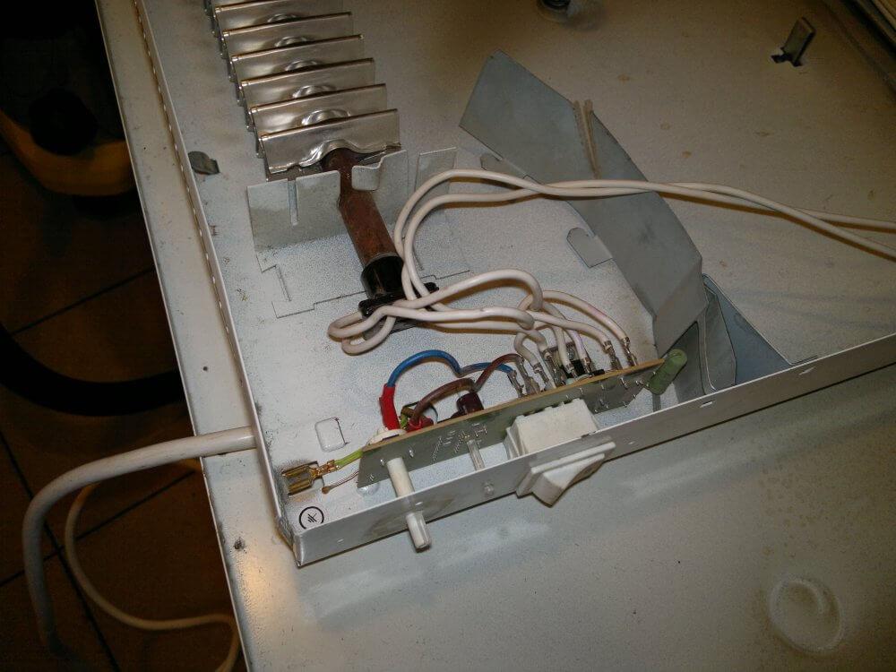 Ремонт конвектора своими руками: видео, фото, инструкция