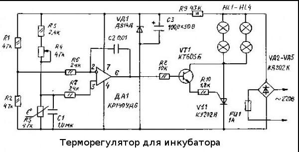Для инкубатора