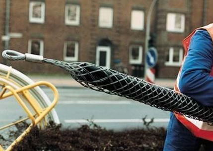 kabelniy chulok 4 Кабельные чулки для протяжки кабеля Фото