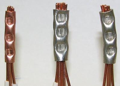 kak opressovat provoda 3 Соединение проводов и кабелей гильзами Фото