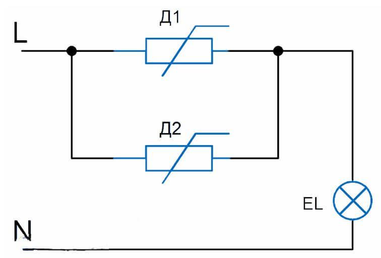 Схема подключения шнайдер электрик проходной выключатель