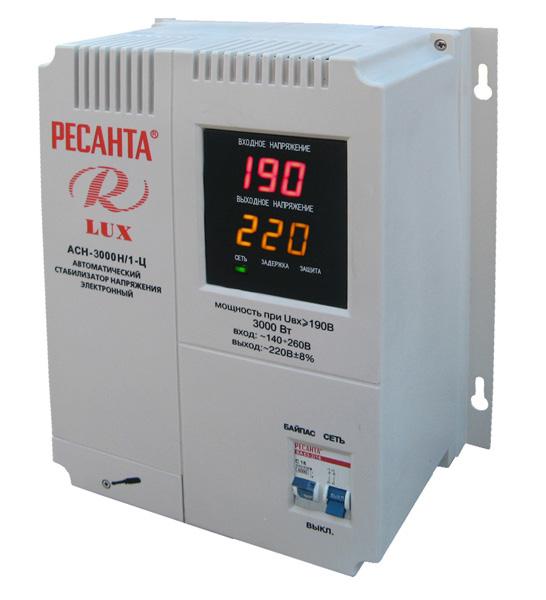 Ресанта АСН 8000Н 1 Ц Рейтинг стабилизаторов напряжения для дома Фото