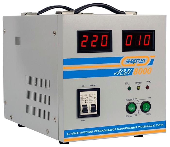 Энергия ACH 20000 Рейтинг стабилизаторов напряжения для дома Фото
