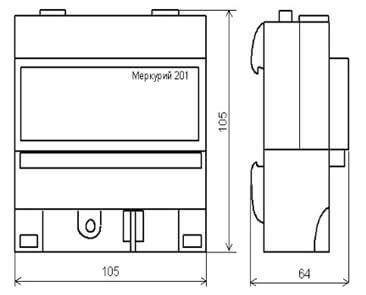 Размеры М-201