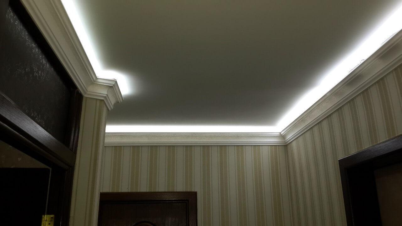 Подсвечивание контуров комнаты