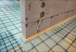 Как провести электропроводку в доме из газобетона