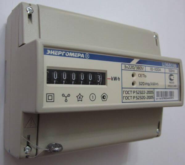 Схема подключения счетчика цэ6803в фото 928