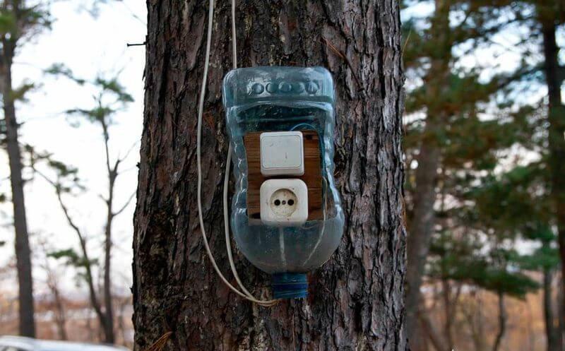 Защита электрики от дождя