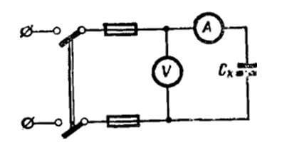 Амперметр и вольтметр в цепи