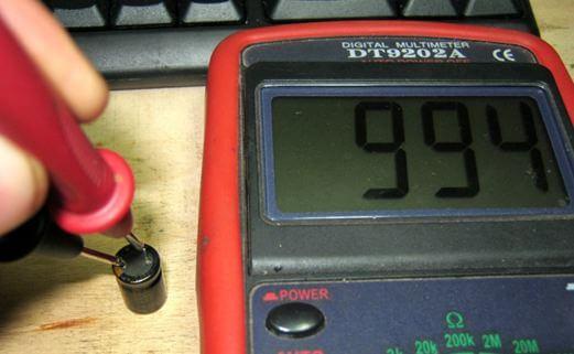 Измерение щупами