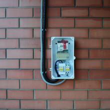 Как подключить провод СИП к частному дому?