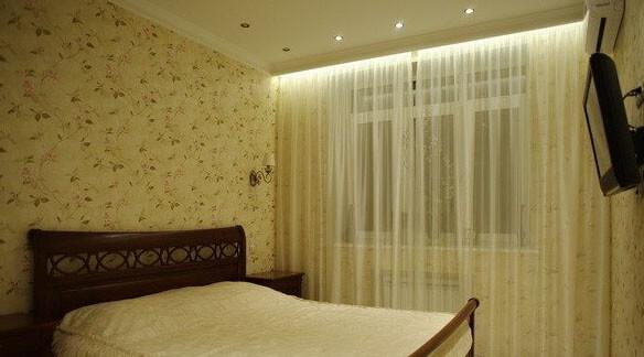podsvetka shtor svetodiodnoj lentoj 4 Как сделать подсветку штор светодиодной лентой? Фото