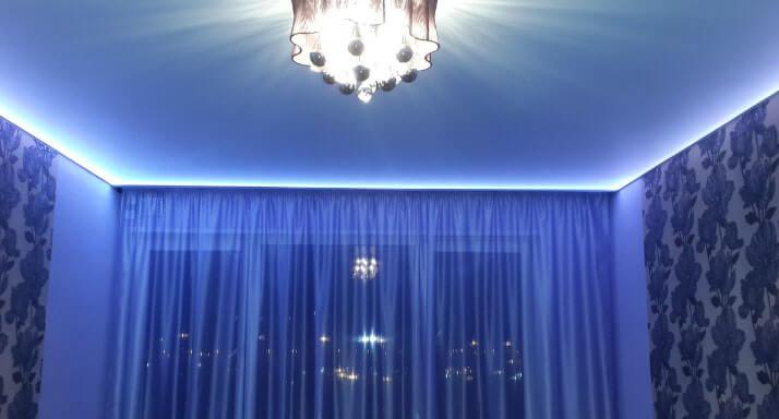 podsvetka shtor svetodiodnoj lentoj 5 Как сделать подсветку штор светодиодной лентой? Фото