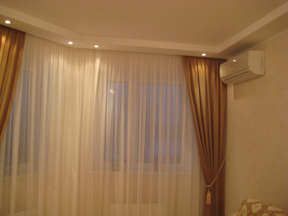 podsvetka shtor svetodiodnoj lentoj Как сделать подсветку штор светодиодной лентой? Фото