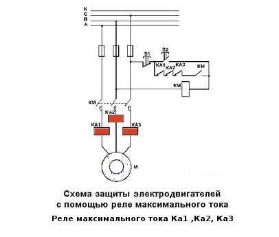 Схема подключения РМТ