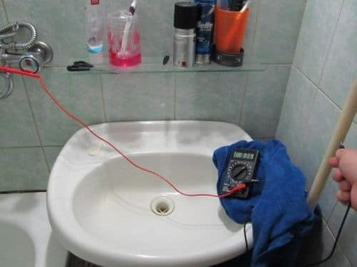 Проверка электропроводки мультиметром