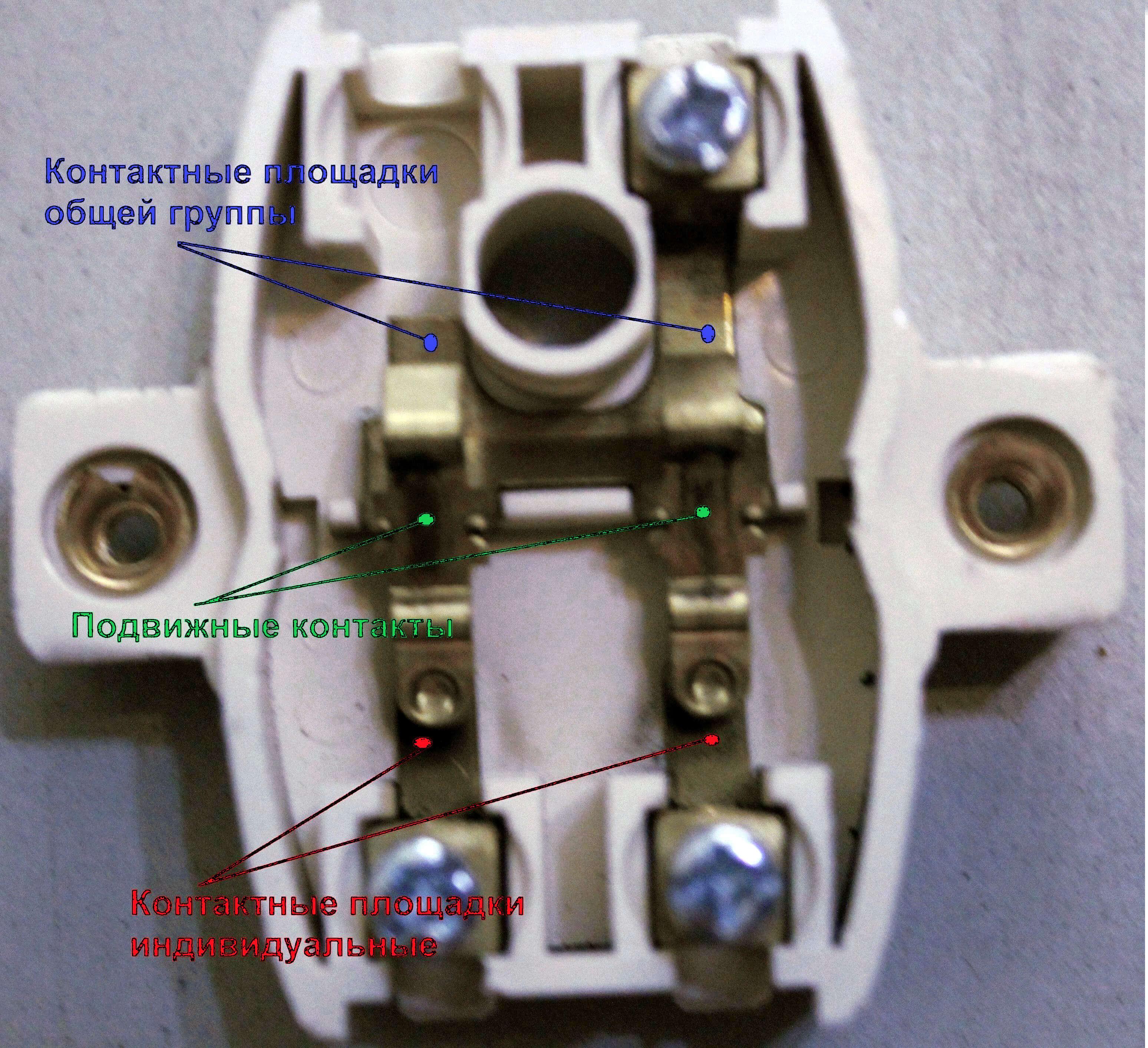 Как сделать из одноклавишного выключателя проходной