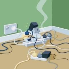 Что такое перегрузка электрической сети и чем она опасна?