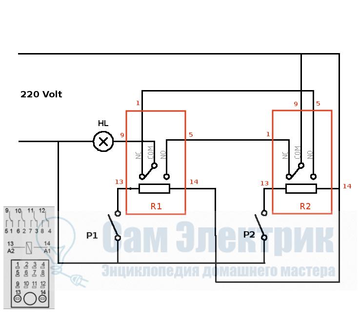 Как сделать проходной выключатель света фото 764
