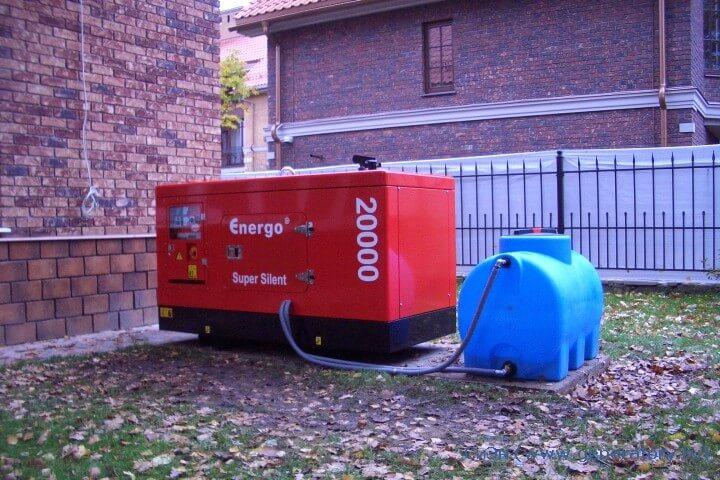 ustanovka dizelnogo generatora 5 Установка дизель генератора в помещении и на улице Фото