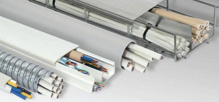 Прокладка кабеля в лотках и коробах: нормы, инструкция, фото