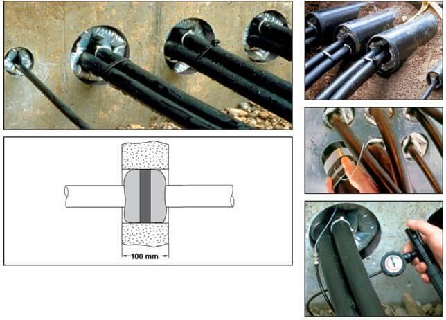 Применение надуваемого герметизатора