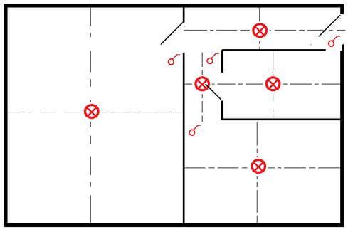 kak sostavit sxemu elektroprovodki pered remontom 2 Составление схемы электропроводки в квартире и частном доме Фото