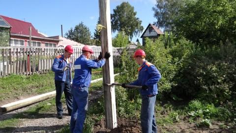 Как установить электрический столб на участке