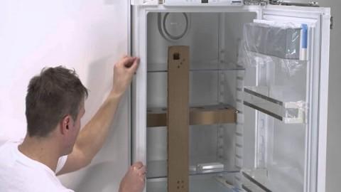 Правила установки встраиваемого холодильника на кухне