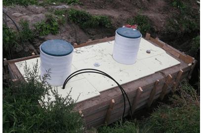 Обогрев септиков и канализационных труб загородного дома