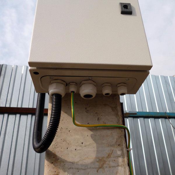 Ввод кабеля в электрощит