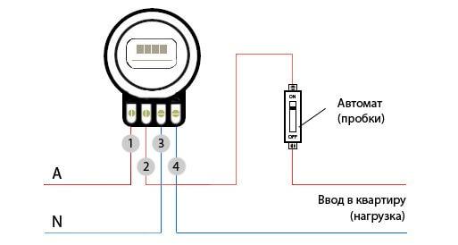 Схема подключения СО-505