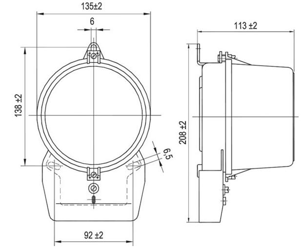 Как устроен электрический счетчик Энергомера Конструкция