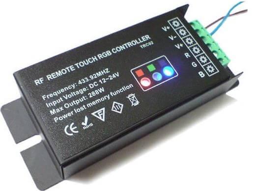 Характеристики контроллера