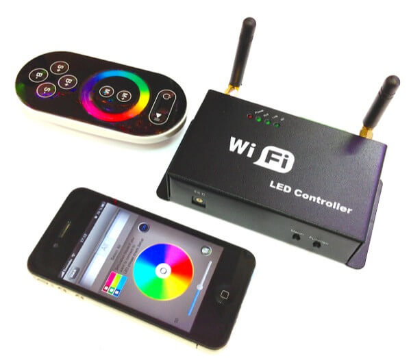 Управление по Wi-Fi