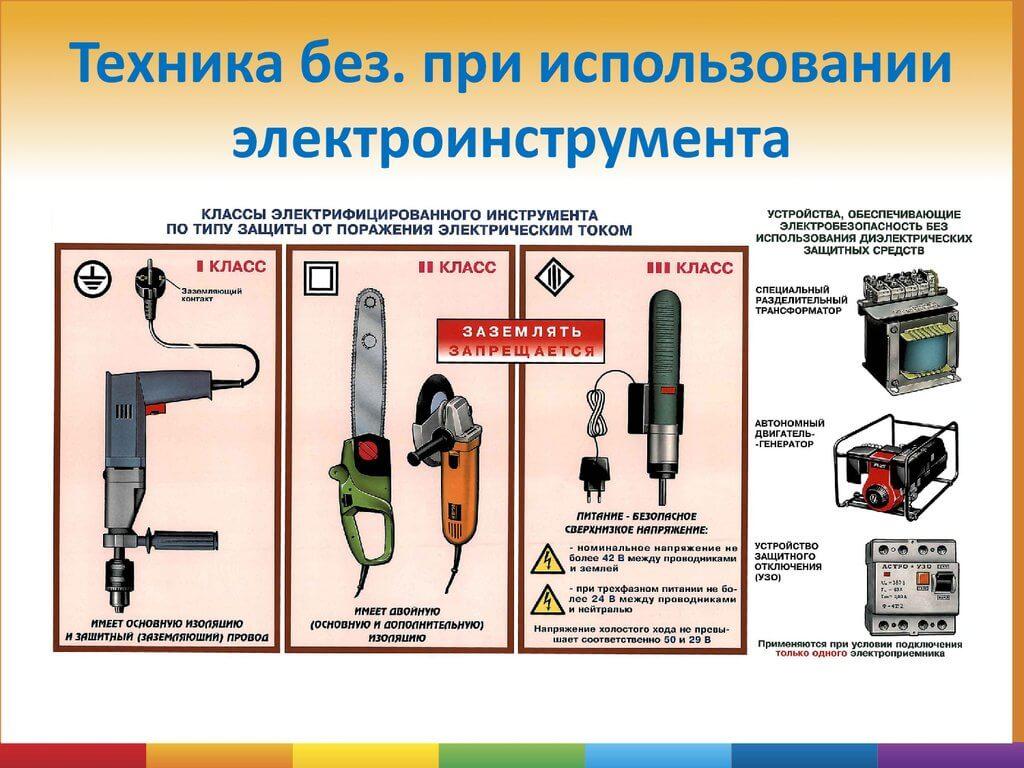Электробезопасность.требования к переносному электроинструменту приказ на проверку знаний по электробезопасности нужен