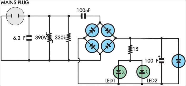 Энергосберегающий прибор и его схема