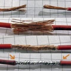 Как подключить многожильный провод или соединить его с одножильным